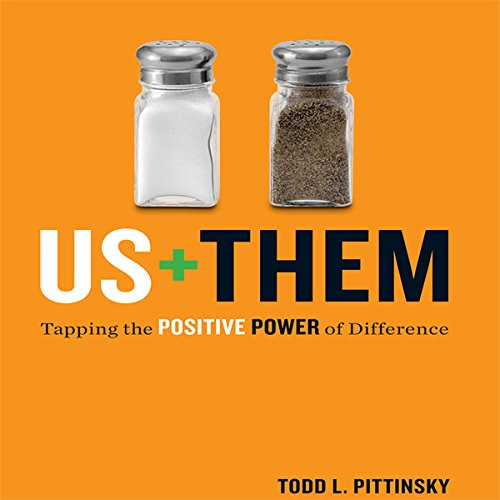 Us Plus Them audiobook cover art