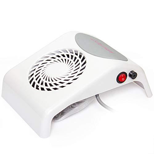 Aspirateur Manucure Nail White Aspirateur de bureau Manucure Sécheur Aspirateur Convient pour Nail Salon et utilisation à la maison avec sac à poussière 220 v