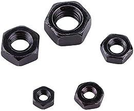 M2-M5, metrisch zeskantig garen, zwart, zink, zilver, koolstofstaal, zeskantmoeren voor machinehouder, M2, 100 stuks