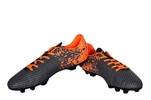 Nivia Premier Carbonite Orange Football Studs - UK 10