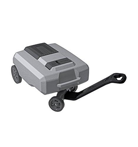 SmartTote 2 Thetford SmartTote2 LX Portable Waste Tote Tank 40517, 4 Wheels - 18 Gallon Capacity