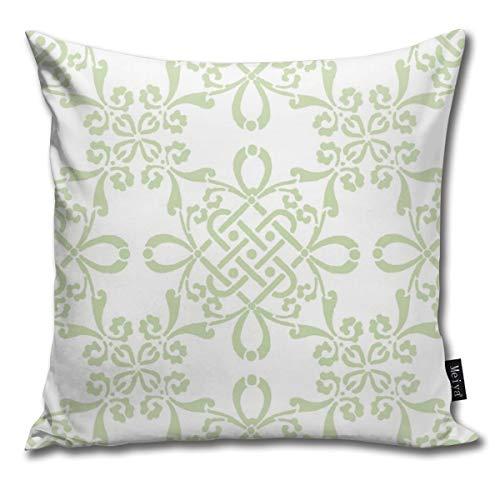 Rasyko Zara In Basil Home - Funda de cojín decorativa para cama de regalo, sofá de coche