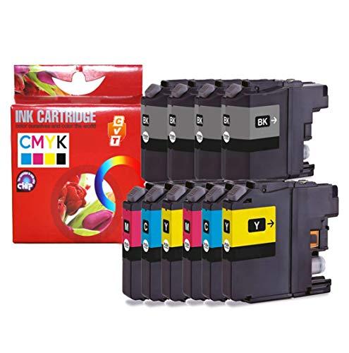 CVT CompraVentaToner - Pack de 10 Cartuchos de Tinta compatibles Brother LC223 / LC 223 DCP-J4120DW J562DW,MFC-J480DW J880DW J4420DW J4620DW J5320DW J5620DW J5720DW J680DW