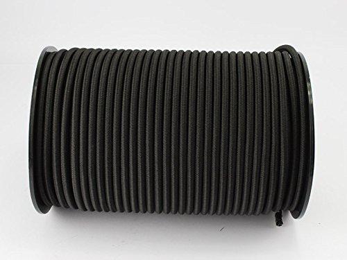 30m Expanderseil schwarz 8mm Gummiseil Planenseil Spannseil elast, Seil Plane …