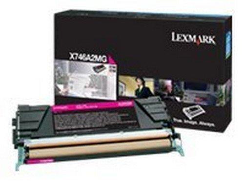 X746A2MG Lexmark X748de Cartucho de Tóner Magenta