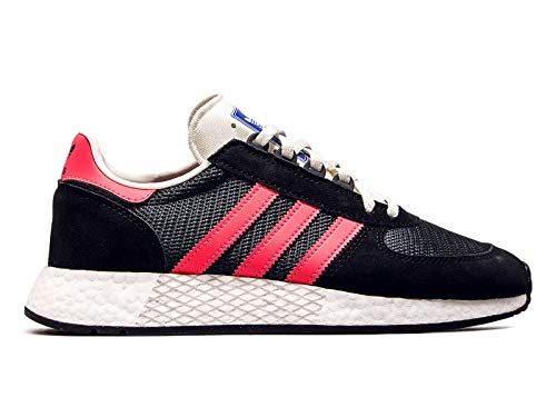 Adidas Marathon Tech Black Pink Größe: 10,5(45⅓) Farbe: Black