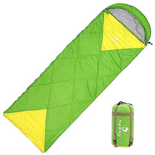GEDHH Jungle King Saco de Dormir sobre para Acampar al Aire Libre Primavera Todas Las Estaciones para Acampar