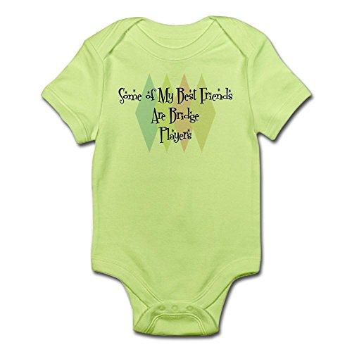 CafePress - Bridge Players Friends Infant Bodysuit - Cute Infant Bodysuit...