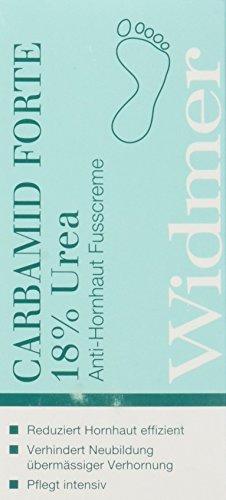 Louis Widmer Carbamid Forte Urea Anti-Hornhaut-Fusscreme, 1er Pack (1 x 50 ml)