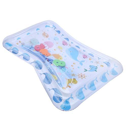 Cosiki Alfombrilla de PVC Colorida para Jugar al Agua, 66x50x6.5cm Alfombrilla para bebé para la Hora de la Panza, para Edades de 2 a 6 años Refrigeración Verano Bebé Niños Bebés Niños Adultos