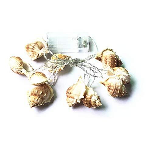 Led Conch Shell Fairy Lichterketten Ocean Conch Dekoration String Licht Party Beleuchtung Für Indoor Outdoor Party Hochzeit Weihnachtsbaum Garten