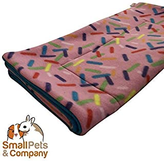 Guinea Pig Fleece Cage Liner for Midwest Habitat | Guinea Pig Bedding | Guinea Pig Fleece | Sprinkles