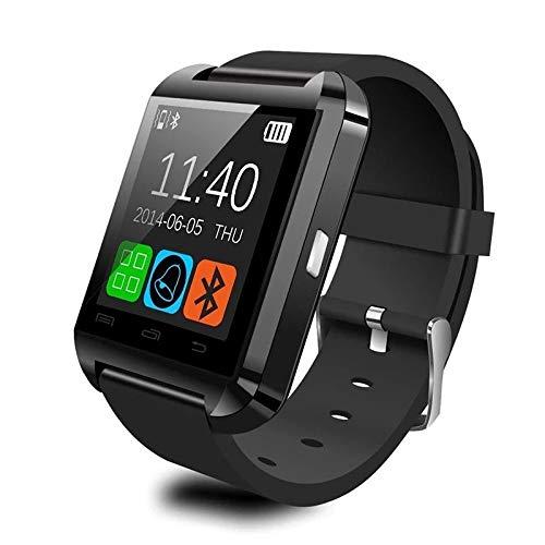 Letopro Smartwatch Bluetooth Orologio Intelligente Compatibile con Android iOS Smartphone.Smart Watch telefono da Polso con Pedometro Promemoria di Chiamata Contatore di Caloria U8 Watch(Nero)