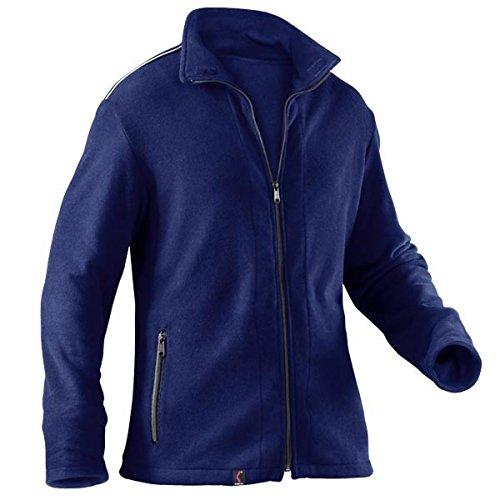 KÜBLER Workwear KÜBLER Safety X Fleecejacke blau, Größe M, Unisize-Fleecejacke aus Mischgewebe, antistatische Fleecejacke
