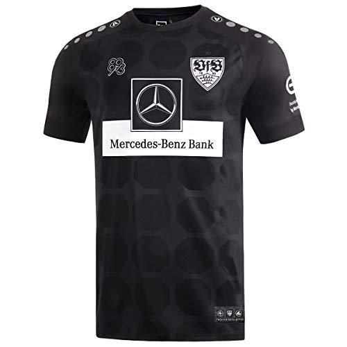 JAKO Herren VfB Stuttgart 19/20 3rd Fußballtrikot schwarz M