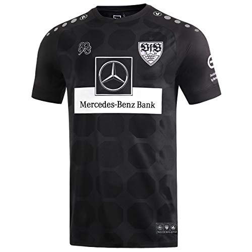 JAKO Herren VfB Stuttgart Ausweich Trikot, schwarz, XL