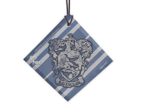 Trend Setters - Harry Potter – Maison de Poudlard – Serdaigle Crest Starfire Impressions en verre à suspendre – Idéal pour offrir et collectionner