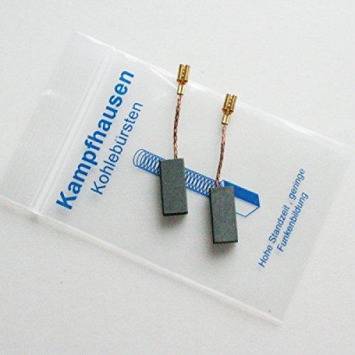Escobillas de carbón compatibles con lápices de carbón para amoladora orbital Bosch Flex PWS GWS GEX GNA GNF PSF