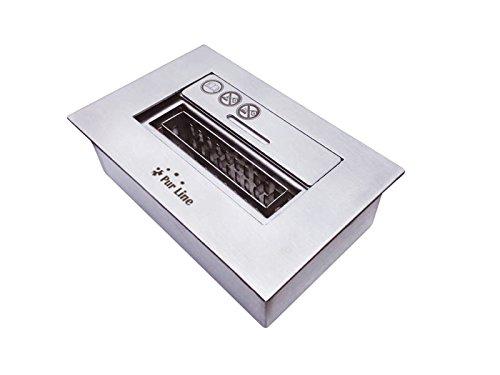 PURLINE NB12 Keramikfaser-Brennblock mit Flammenregulierungsabdeckung