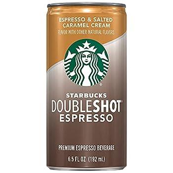 Starbucks Doubleshot Espresso Salted Caramel 6.5 fl oz cans  12 Pack