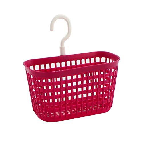 Doitool Wäschekorb, umweltfreundlich, für Zuhause, Küche, zum Aufhängen, Ablaufgarnitur, Grün 玫çoè‰2