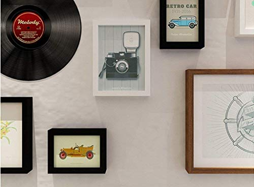 MJY Fotógrafo Pared, Madera maciza Niño Colgando Pintura simple Marcos creativos de combinación Personalidad Foto Pared de la pared extraíble Entorno Aliado Decoración del hogar