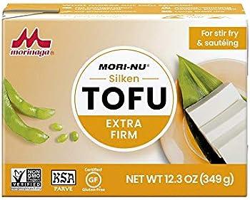 12-Pack Mori-Nu Silken Extra Firm Tofu, 12.3oz