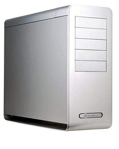 SilverStone SST-FT02S USB 3.0 - Fortress Big Tower Gehäuse mit hervorragenden Kühleigenschaften, SSI-CEB, ATX, silber