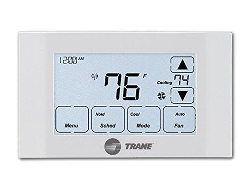 TRANE 14942771 Thermostat, Z-Wave, Compatible with Alexa (Renewed)