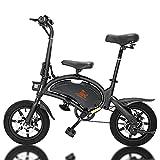 SUMEND EU Warehouse Kugoo Kirin B2/V1 Bicicleta eléctrica para Adultos 400W Motores Velocidad máxima 45km/h 14 Pulgadas Neumáticos Soporte de aplicación