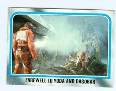 Star Wars Empire Strikes Back trading #184 1980 Luke Low price Topps free shipping card