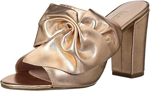 Avec Les Filles Women's Marie Slide Sandal, rose gold, 7.5 Medium US