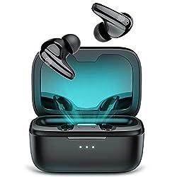 La puce Qualcomm 3040 : Ecouteurs Bluetooth 5.2 intégrés au codec Qualcomm Aptx, fournit une technologie d'égalisation dynamique du son qui améliore automatiquement les basses et les aigus. La qualité du son est toujours équilibrée et constante, quel...