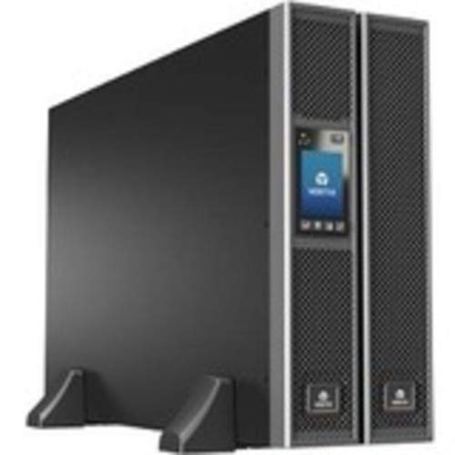 Liebert GXT5 UPS w/Network Card - 10kVA/10kW 208 and 120V, Online Double Conversion Rack Tower, Ener