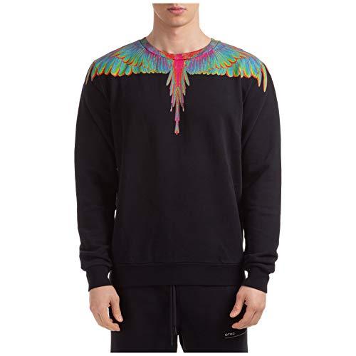 MARCELO BURLON Herren Sweatshirt Wings Nero XL
