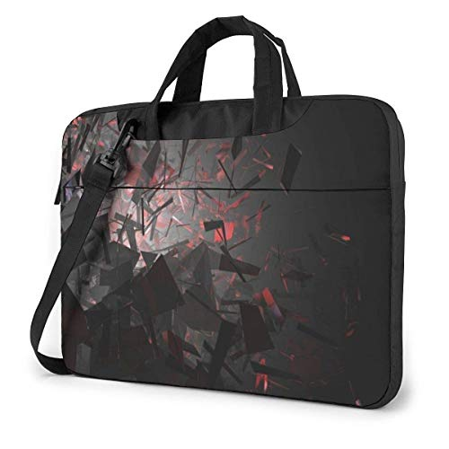 Laptop Shoulder Bag Carrying Laptop Case 14 Inch, 3D Art Computer Sleeve Cover with Handle, Business Briefcase Protective Bag for Ultrabook, MacBook, Asus, Samsung, Sony, Notebook