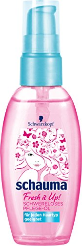 Schauma Fresh it Up Schwereloses Pflege-Öl, 3er Pack (3 x 50 ml)