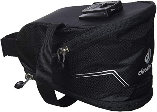Deuter Bike Bag Click II Satteltasche, Black, 13 x 11 x 18 cm, 1.3 L