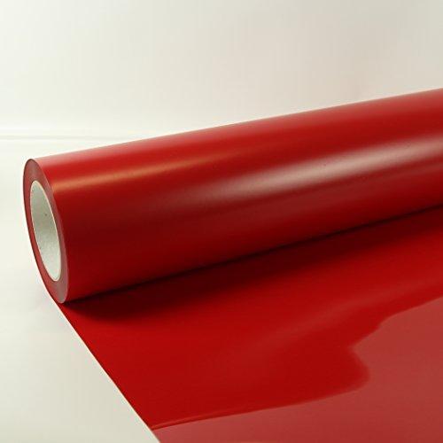 22,40€/m² 1m x 0,5m Poli-Flex Premium Folie Rot 408 Flexfolie Buegelfolie Poli-Flex