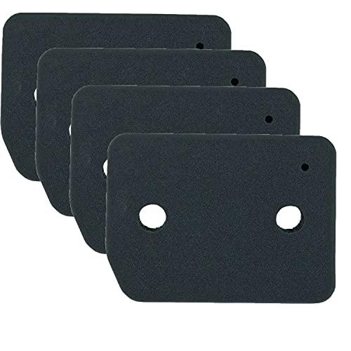 4er Set Kondenstrockner Filtermatte, 9164761 Schwammfilter Kompatibel mit Miele Wärmepumpentrockner TDD 120 130 230 WP, TKB140 150 155 300 340 350WP, ACTIVE TDB230WP T1ACTIVE