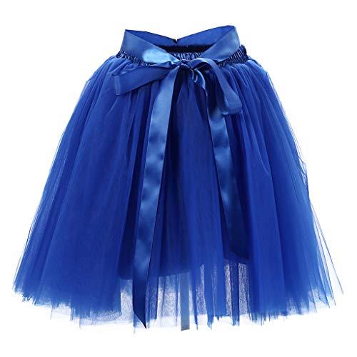 Brizz Rok Tutu Tule rok voor dames, 50 stuks, kort, vintagejurk, accessoire voor rockabilly-jurk, feestelijke bruidsjurk