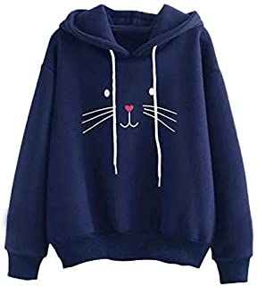 Khhalisi Women's Fleece Full Sleeves Sweatshirt Hoodie