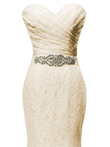 SOLOVEDRESS-Womens-Beaded-Pleat-Lace-Wedding-Dress-Mermaid-Bridal-Gown-with-Sash