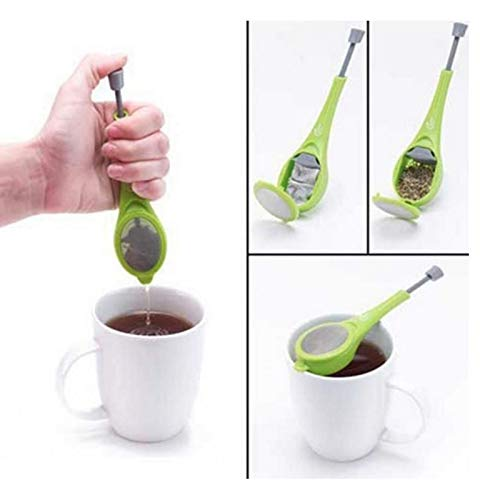 Para el té Filtro Paulclub silicona de Infuser del té del