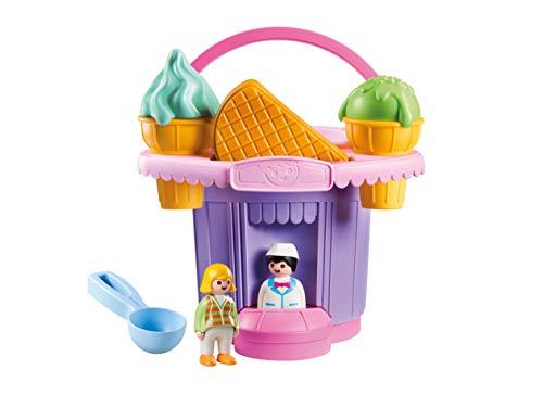 Cubo heladería Playmobil 1.2.3 Sand (70065)