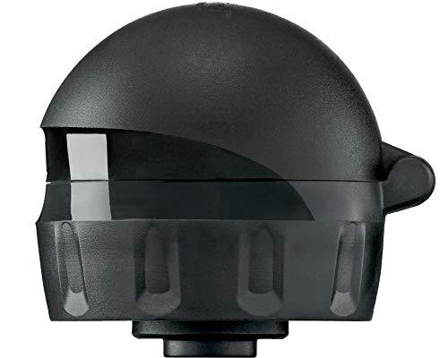 SIGG ABT Complete Black Transparent couvercle pour bouteille (taille unique), pièce de rechange pour gourde SIGG, bouchon étanche pour gourde de sport