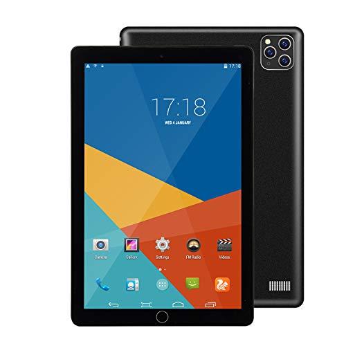 SHENXINCI Tablet Touch Android da 10 Pollici - Tablet Economico 16 GB Rom Quad Core Bluetooth Android 8.1 Schermo HD 1280x800 IPS Doppia Fotocamera 2MP 4000MAah Micro HDMI GPS FM WiFi - 5 Colori