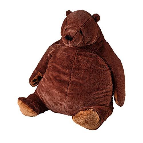 Brown Bear Plüschtier Big Hug Beruhigendes Tier weiches Kuschelkissen Puppe für Kinder/Erwachsene Gr. 100 cm , braun