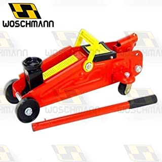 Woschmann Car Jack Hydraulic Trolley Jack With Strong Stick to Push Car Jack - 2 Ton Capacity