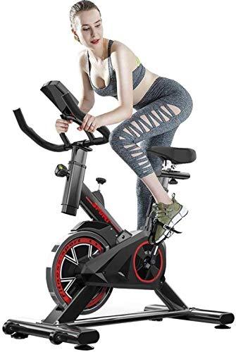 Entrenador de ciclismo para interior con asiento ajustable y resistencia cómodo cojín para el hogar, cardio Workou para hombre y mujer